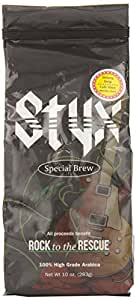 The Coffee Fool Styx Special Brew, Strong Drip Grind, 10 Ounce