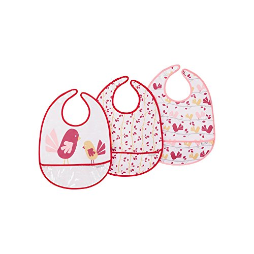 JJ Cole Bib Set, Pink ()