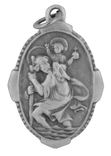 Venerare Traditional Catholic Saint Medal (Saint Christopher)