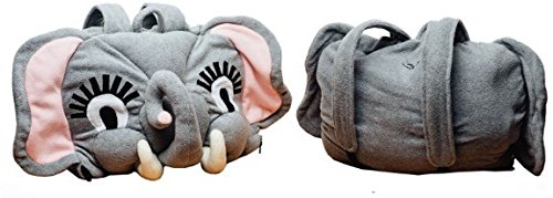 Trenique Creations Medium Elegant Elephant 3D Backpack W/Attached Sleeping Bag by Trenique Creations