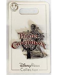 Disney Pin 134929 Pirates of the Caribbean - Skeleton at the Helm Pin