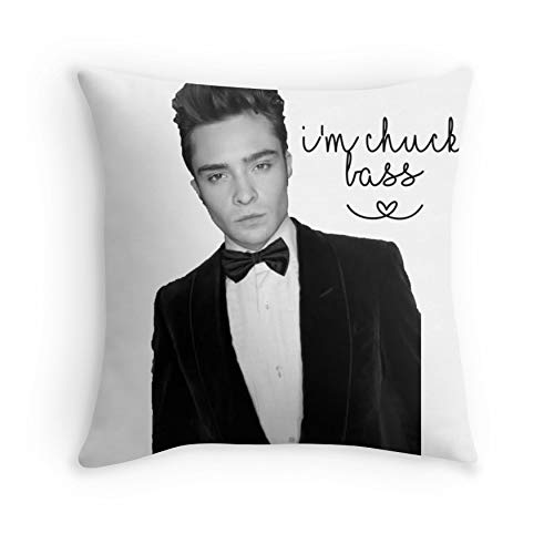 I M Chuck Bass For Sofa Couch Living Room Bed Decorative Square 16x16 Amazon Ca Handmade