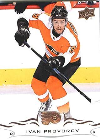 b262db3d0 2018-19 Upper Deck  136 Ivan Provorov Philadelphia Flyers NHL Hockey  Trading Card