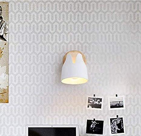 Lightnórdica Arte Pared Led Luz Moderno Noche Dormitorio Decoración Salón Corredor Hotel Lámpara De Pared - - Amazon.com