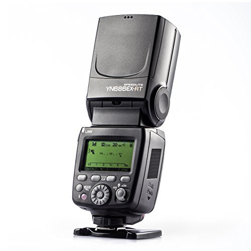 Yongnuo YN686EX-RT Speedlight TTL high X- sync Hot Shoes Out-Built Speedlight for Canon Cameras with Tarion Card Case