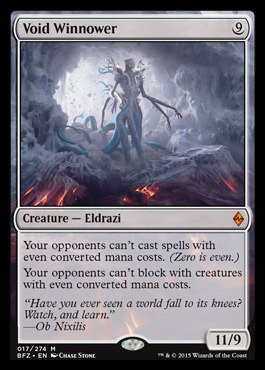 Magic: the Gathering - Void Winnower (017/274) - Battle for Zendikar