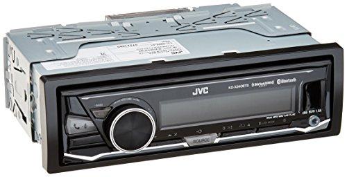 JVC KD-X340BTS Single-Din Car Digital Media Bluetooth Receiver, USB/AUX/SiriusXM