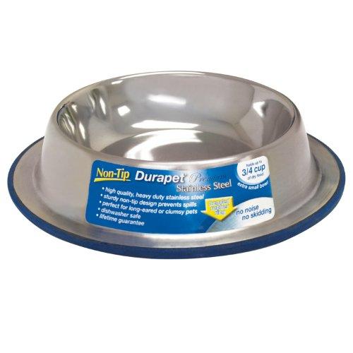 Durapet Non-Tip Bowl, Extra Small, My Pet Supplies