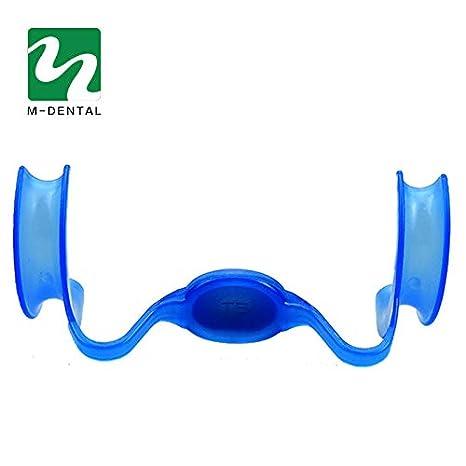 Abridor de boca con espejo Retractor mejillas Blanqueamiento dental dental