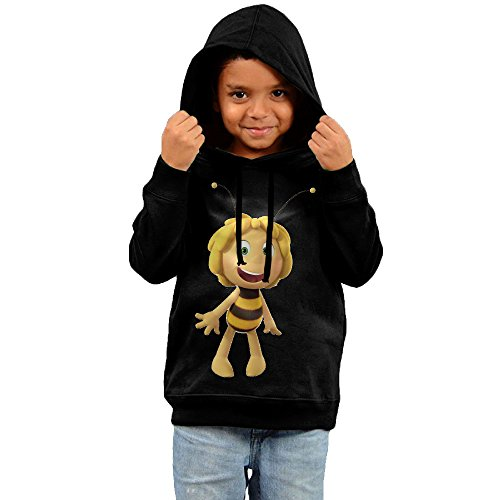 Toddler Geek Maya The Bee Movie 100% Cotton Long Sleeve Sweater Black US Size 3 - Maya Cotton Sweater