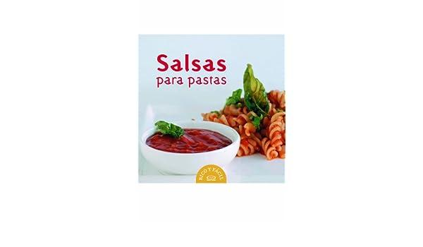 Salsas para pastas/ Pasta Sauces (Spanish Edition): Trini Vergara: 9789876120548: Amazon.com: Books