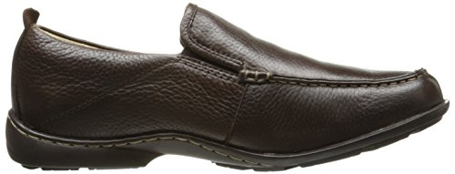 Hush Puppies Mens GT Slip-On Loafer Dark Brown Leather