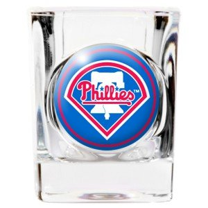 - Great American Products Philadelphia Phillies Square Shot Glass - 2 oz.