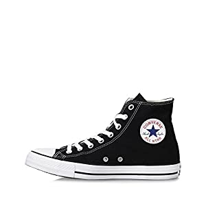 Converse Chuck Taylor All Star Hi Top Black Canvas W9160, Men's 9.5 womens 11.5
