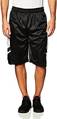 Southpole Mens Basic Basketball Mesh Shorts