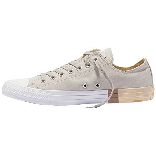 Star Converse All Grey Desert Pale Ox Canvas Trainers Taylor Womens Chuck IgIwUAS