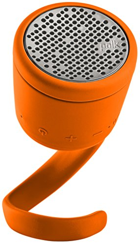 BOOM Swimmer DUO - Dirt, Shock, Waterproof Bluetooth Speaker with Stereo Pairing (Orange)