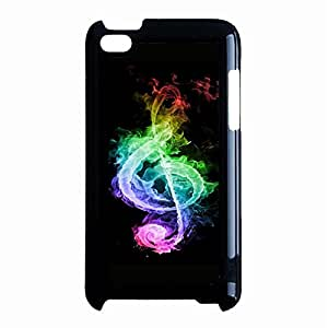 Hot Design Musical Note Phone Case Cover For Ipod Touch 4th Generation Guitar Unique Design