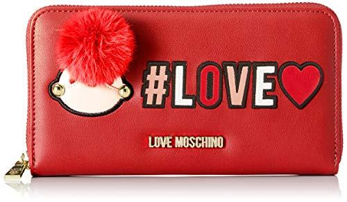 Moschino Portafogli Pu Rosso Donna Love d6wq5dax