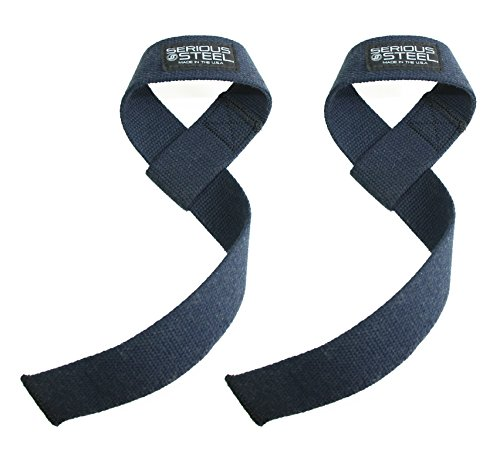 Ausdauertraining Fitness & Jogging Harbinger 21501 Heavy Cotton Lifting Straps Pair