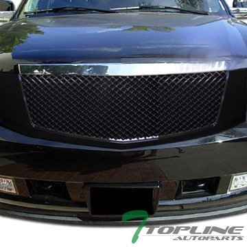 Cadillac Escalade Grille Replacement (Black Luxury Style Mesh Front Hood Bumper Grill Grille Cadillac Escalade)