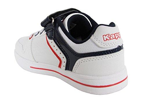 Niña Deporte White Kappa De Reggia Y Zapatillas 302bny0 Niño navy 918 wqw17XpC