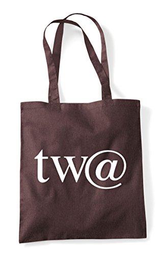 Sign Gaming Character Tote Gamer Shopper At Brown Statement Bag Twat CwqIvv