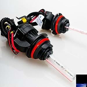 55w 12v 9004 30000K xenón haz hi / lo escondió bombillas de repuesto para la linterna