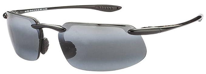 40e1fe2a76 Maui Jim Sport Sunglasses (Gloss Black) (Kanaha 409-02 )  Amazon.in ...