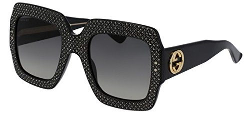 Sunglasses Gucci GG 0048 S- 003 BLACK / GREY