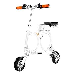 41c0moms7hL. SS300 RXRENXIA Pieghevole Bici Elettrica, Leggero E Alluminio Folding Bike con I Pedali Scooter Small Car Batteria Portatile…