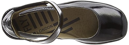 London Cheville Bride Black Fly Escarpins Femme Noir 004 Juve923fly BgIwxqzd