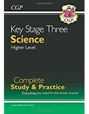 New KS3 Science Complete Study & Practice - Higher (with Online Edition) (CGP KS3 Science)