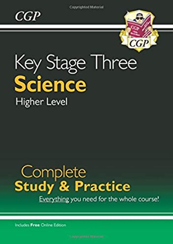 new ks3 science complete study practice higher with online rh amazon co uk CGP Logo CGP Education