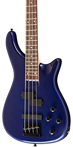 Rogue LX200B Series III Electric Bass Guitar Metallic Blue