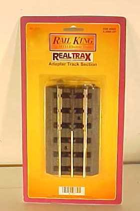 M.T.H. Electric Trains O Realtrax-to-Tubular Adapter