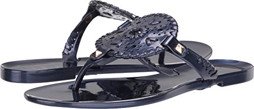 Jack Rogers Women's Pearlized Georgica Jelly Flip-Flop, for sale  Delivered anywhere in USA