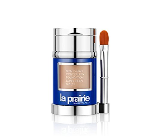 La Prairie Skin Caviar Concealer Foundation SPF 15, Peche, 1 Ounce