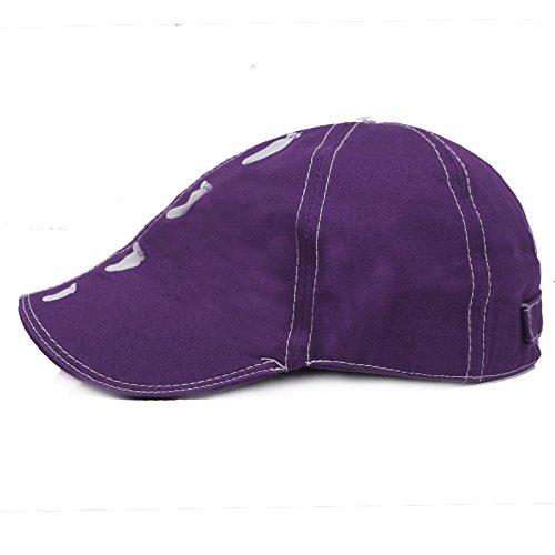 Couleur Violet Homme Casquette Bleu Medium Acvip Souple 1 fIxwp