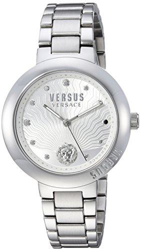 Versus by Versace Women's 'LANTAU Island' Quartz Stainless Steel Casual Watch, Color:Silver-Toned (Model: VSP370417)