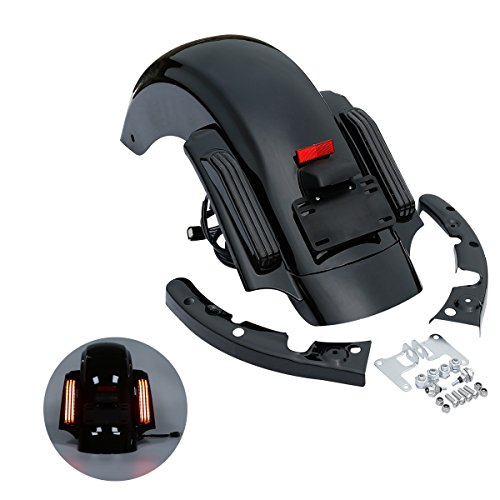 XMT-MOTO CVO Style Rear Fender System For Harley Davidson Touring models 2014 2015 2016 2017 2018 -