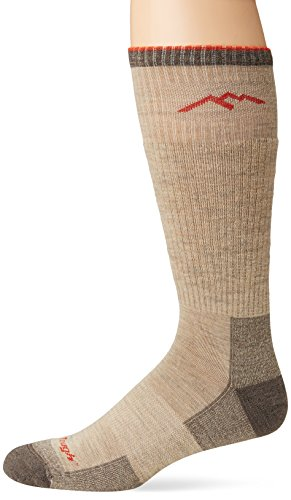 - Darn Tough Vermont Men's Merino Wool Boot Cushion Hiking Socks, Oatmeal, X-Large