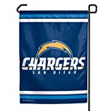 "NFL San Diego Chargers WCR08383013 Garden Flag, 11"" x 15"""
