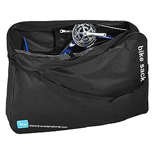 Amazon.com: Caso B & W Bike – Saco Bolsa de bicicleta ...