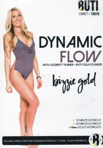Buti Yoga Dynamic Flow DVD - Bizzie Gold