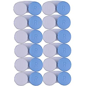 CONTACT LENS CASE – 12 Month Value Pack of Blue Contact Cases   Perfect for Home and Travel - Protect Your Eyes Today!   Alpine Choice