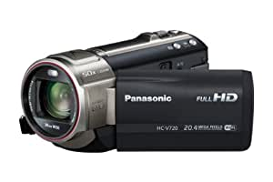 "Panasonic HC-V720EG-K - Videocámara de 17.52 Mp (pantalla de 3"", zoom óptico 21 estabilizador de imagen óptico), negro"