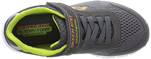skechers SYNERGY - POWER RUSH - Zapatillas de deporte para niño gris - Grau (CHAR)