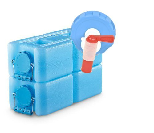 WaterBrick - 2 Pack Blue with Spigot Container