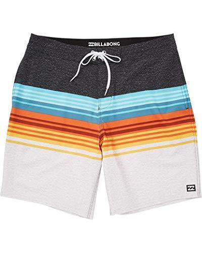 Billabong Men's Classic Lo Tide Boardshort, Spinner Light Orange, 34 -
